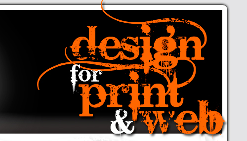 Design for Print and Web